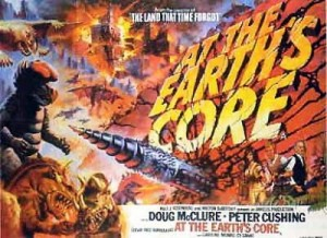 """Movie Poster for """"At the Earth's Core"""""""