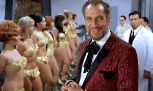 "Vincent Price in ""Dr. Goldfoot and the Girl Bombs"""