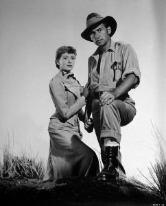 "Deborah Kerr and Stewart Granger in ""King Solomon's Mines"""
