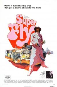 """Movie poster for """"Super Fly"""""""
