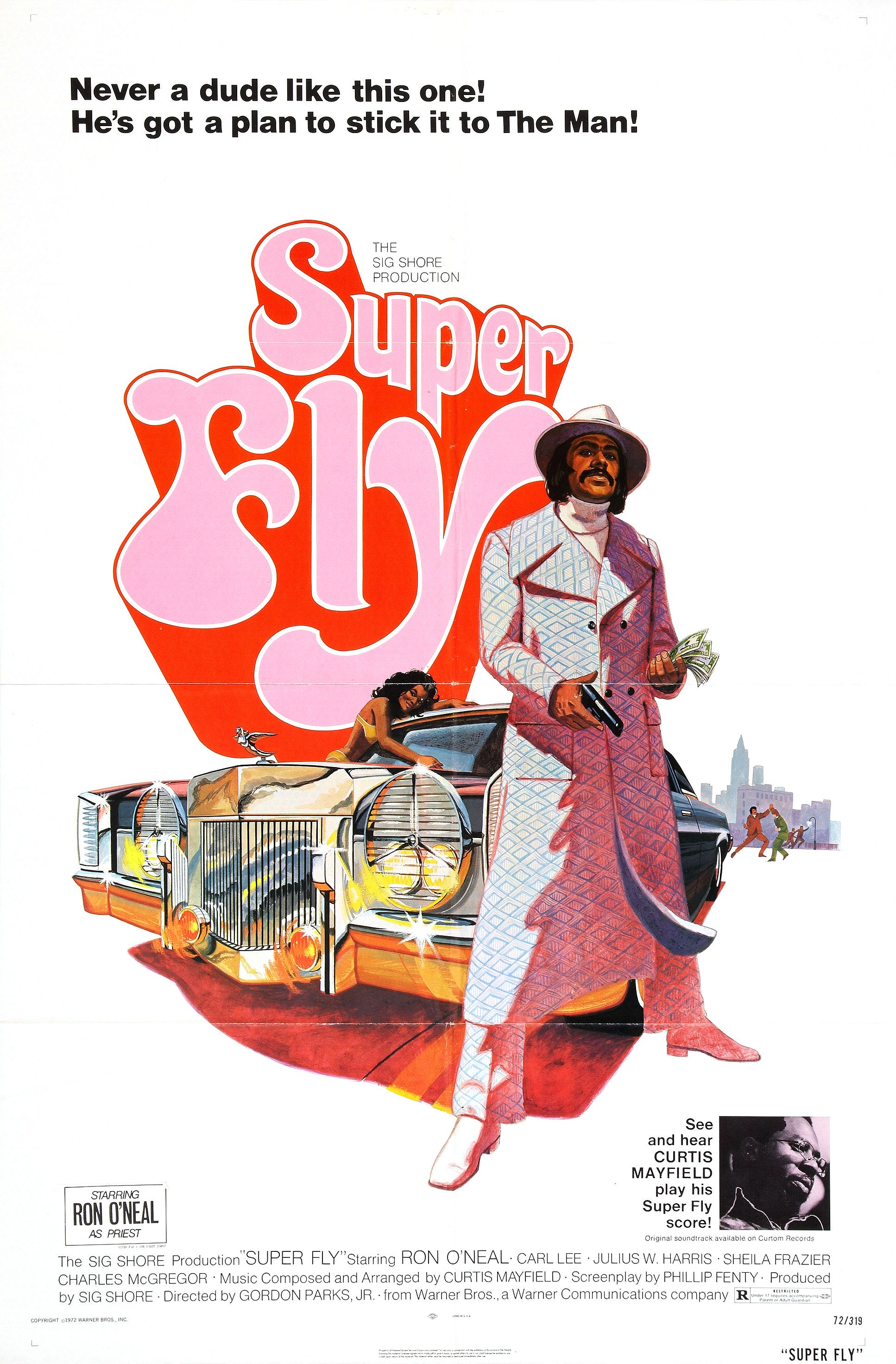 Movie Poster for &quotSuper Fly""