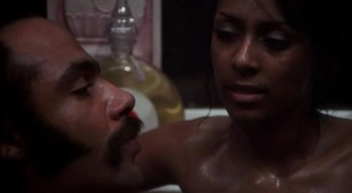 "Ron O'Neal and Sheila Frazier in ""Super Fly"""