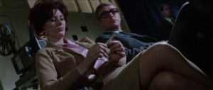 """Sue Lloyd and Michael Caine in """"The Ipcress File"""""""