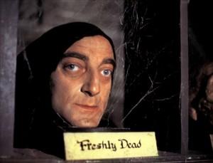 "Marty Feldman as Igor in ""Young Frankenstein"""