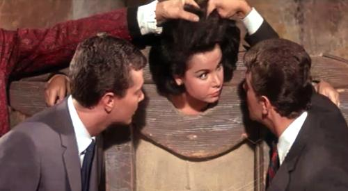 Is that... Annette Funicello?!