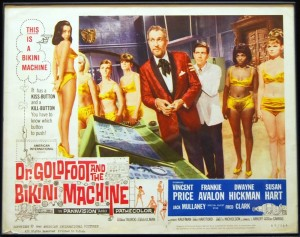 """Movie Poster for """"Dr. Goldfoot and the Bikini Machine"""""""