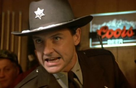 "Terry O'Quinn as Sheriff Joe Haller in ""Silver Bullet"""