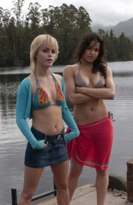 "Taryn Manning and Michelle Rodriguez in ""The Breed"""