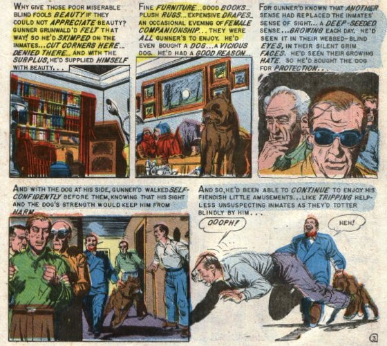 "A portion of ""Blind Alleys"" as it appeared in Tales from the Crypt # 46"