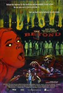 "Movie poster for the rerelease of Lucio Fulci's ""The Beyond"" (1981)"