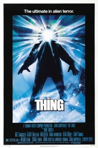 "Movie Poster for ""The Thing"" (1982)"